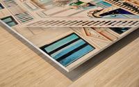 Christmas Display Hotel DAngleterre Copenhagen Wood print