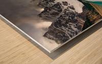 Canadian Rockies Wood print