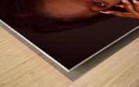 Headshot Wood print