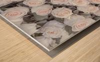 Full frame of Roses Wood print