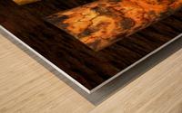 tree bark strong Wood print