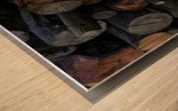 Log Pile Wood print