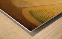 gardener Wood print