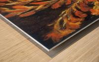 Red Gladioli by Van Gogh Wood print
