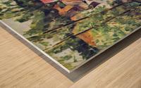 Road bend by Cezanne Wood print