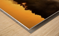 Sunrise at Langley Pond Park   Aiken SC 7R301594 12 19 20 Wood print