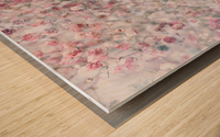 Daltana Pastel Floral Dianola Wood print
