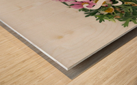 Daltana Spring Irill Wood print