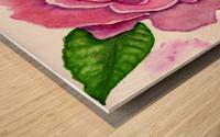 Magnificent Rose Wood print