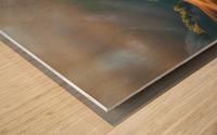 Tuscany Sunrise Wood print