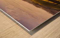 Waves of Light by Javier de la Wood print