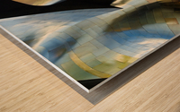 Organic Metal 3 by David Reams  Wood print