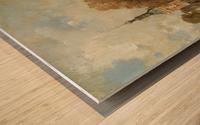 The verdronken oord with the Accijnstoren, Alkmaar Wood print