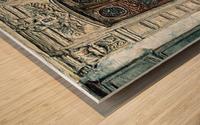 Parisian Door N0. 5-3 Wood print