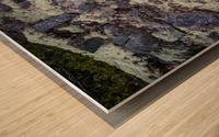 Purple Rocks ap 2289 Wood print