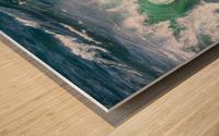 Wave Curl ap 2663 Wood print