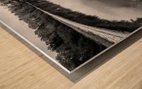 Reflection ap 2595 B&W Wood print