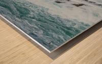 Crashing Waves ap 1535 Wood print