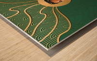 The Curve 2 Wood print