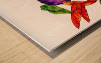 Spring Symphony Wood print
