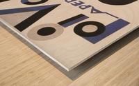 Oi Volo Wood print