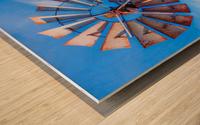 Uncle Sams Windmill Wood print