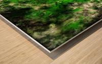 Green noise Wood print