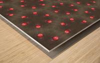 redbeads Wood print