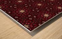 pomegranate Wood print