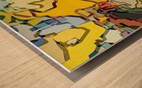 animal magnetism Wood print