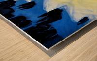 Mount Soleil Wood print