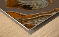Reflection in Chrome Wood print