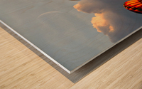 Sunrise Alignment Wood print