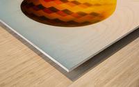 Look Into The Sun Wood print