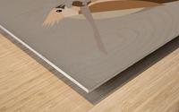 Blue-Naped Mouse Bird Wood print