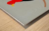 Scarlet TANAGER Wood print