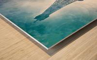 Modern-Art EIFFEL TOWER Wood print
