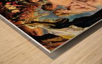 The Three Graces by Rubens Wood print