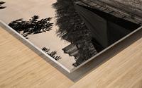 Paris lovers Impression sur bois