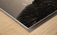 Flood reflection Impression sur bois