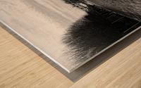 Ourcq canal Impression sur bois