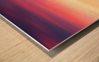 Abstract Movement XIX Wood print