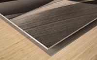 Abstract Sailcloth 16 Wood print
