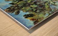 Viaduct by Cezanne Wood print