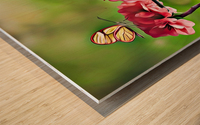A Spring Friendship Wood print