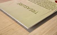 11.TREASURE  2  Wood print