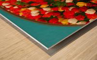 Parade of Tulips Wood print