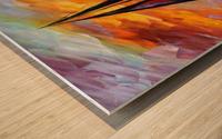 Golden Sails Wood print