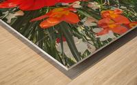 The Flower Family Wood print