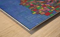 colorfulbuildings Wood print